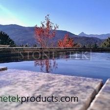Solid granite Reflecting pool
