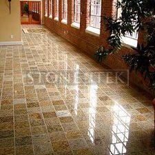 9x9 Sand Blend floor tile.