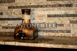 StoneTek Recycled Granite Dark Sand Split Stone